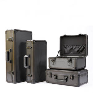 Case Toolbox Safety-Box-Instrument Shockproof Impact-Resistance Aluminum-Alloy Sponge