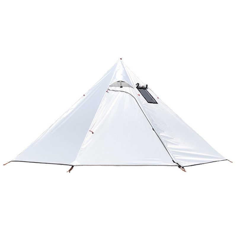 3-4 osoby Ultralight Outdoor Camping Teepee 20D Silnylon Pyramid namiot duży namiot namiot namioty do wypraw z plecakiem