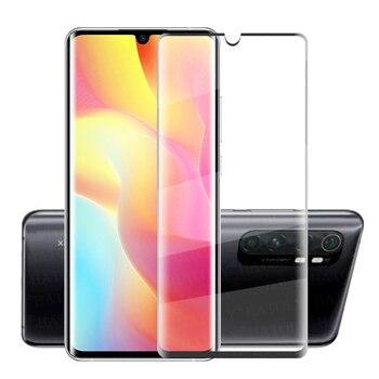 Перейти на Алиэкспресс и купить Для стекла Xiaomi Mi Note 10 Lite закаленное стекло 3D полное изогнутое покрытие защита экрана Mi 10 Pro Lite стекло для Xiaomi Mi Note 10