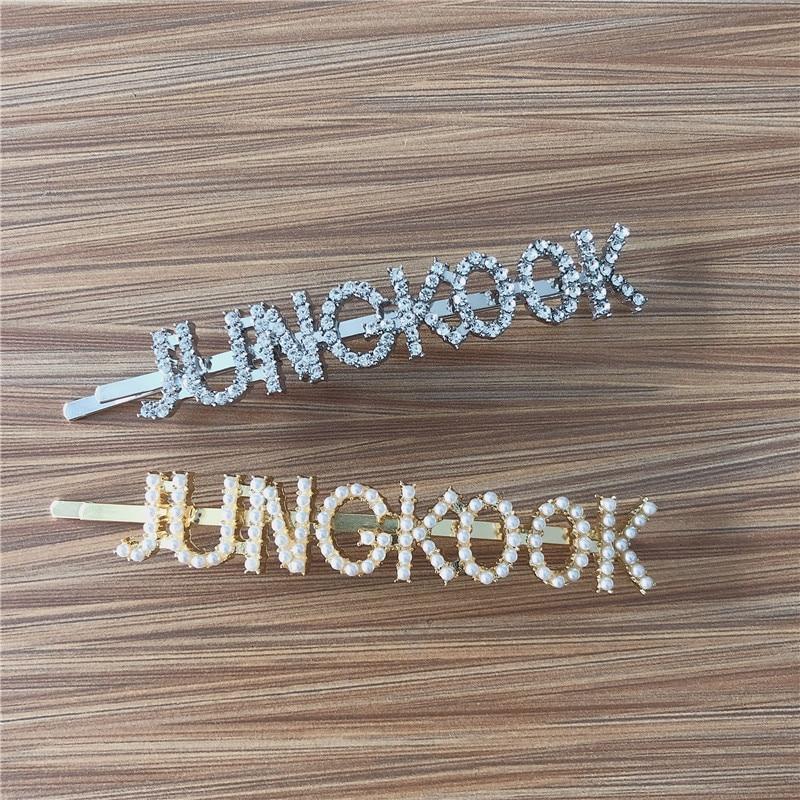 New Fashion Hair Pins JHOPE JUNG KOOK  Hairpin Hair Jewelry Headband Hair Jewelry Bangtan Boys Accessories Gift