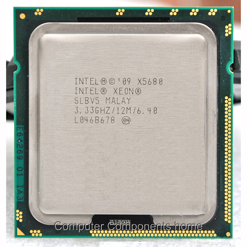 INTEL XEON X5680 Socket LGA1366 CPU Processor Core 6 Duo Six-Core Xeon X5680 CPU(3.3GHz/12M/130W)