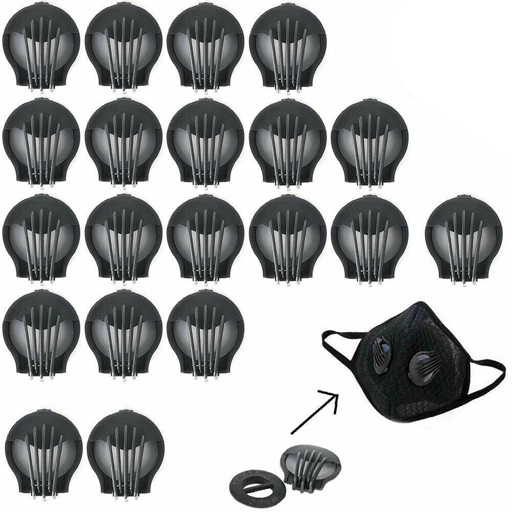 2/5/8//30/50/80pcs Mask Valves Outdoor Anti-dust Face Mouth Filter Air Breathing Valves Replacements Home DIY Mask Accessori K2