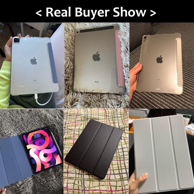 For iPad Air 4 Case 2020 iPad 10.2 Case 7 8th Generation Case Pro 11 2020 Mini 5 10.5 Air 2 9.7 6th funda iPad Pro 11 2021 Case 5