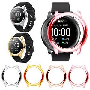 Funda de repuesto para xiaomi Haylou Solar LS05 Smart Watch smartwatch PC Protector marco suave Protector Shell