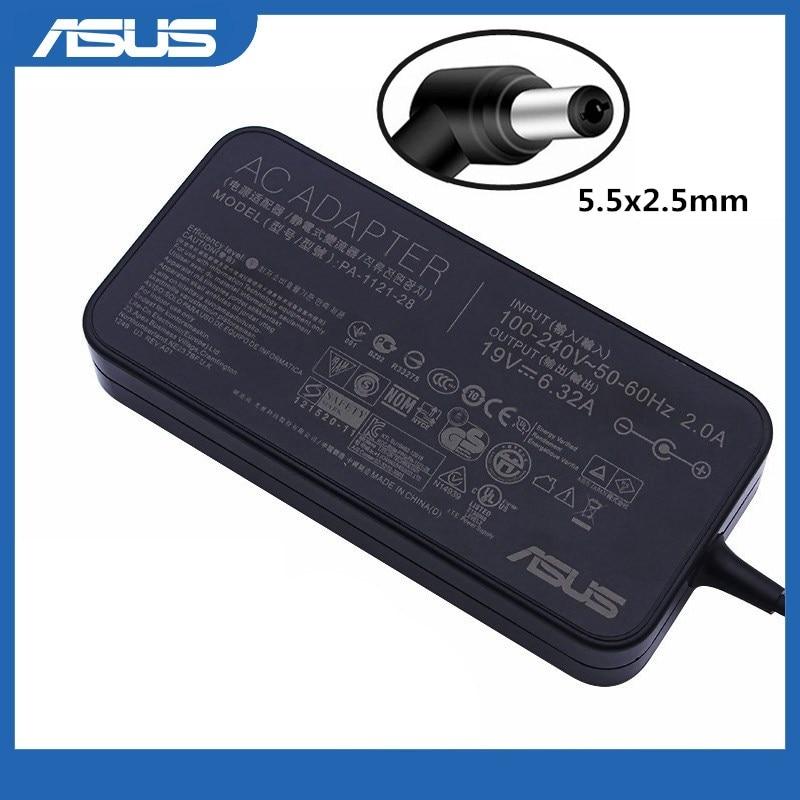 19V 6.32A 120W 5,5x2,5 мм адаптер переменного тока питания для ноутбука Зарядное устройство для Asus UX561UN UX561UD UX561U UX562 UX562F UX562FD UX562FDX UX562FAC UX534
