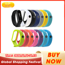 Strap Watch Band Silicone Wrist Bracelet Strap Replacement For Xiaomi MI Band 3 Smart Watch Wearable Devices Smart Accessories cheap choifoo CN(Origin) Watch Strap Other Adult