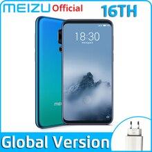 Глобальная версия Meizu 16th 16-й мобильный телефон 8 GB 128 GB Snapdragon 845 Octa Core 6 ''2160x1080 P 3010 mAh Батарея двойной сзади Камера