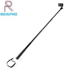 Image 1 - 36 zoll Aluminium Selfie Stick Einbeinstativ für GoPro Hero 9 8 7 6 Gehen pro 5 Schwarz Sitzung Xiaomi Yi 4K Sjcam sj7 Sj4000 Action Kamera