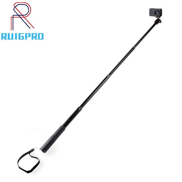 36 zoll Aluminium Selfie Stick Einbeinstativ für GoPro Hero 9 8 7 6 Gehen pro 5 Schwarz Sitzung Xiaomi Yi 4K Sjcam sj7 Sj4000 Action Kamera