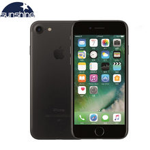 Original Entsperrt Apple iPhone 7 4G LTE handy 2G RAM 256GB/128GB/32GB ROM Quad Core 4.7 ''12,0 MP Fingerprint Kamera Telefon