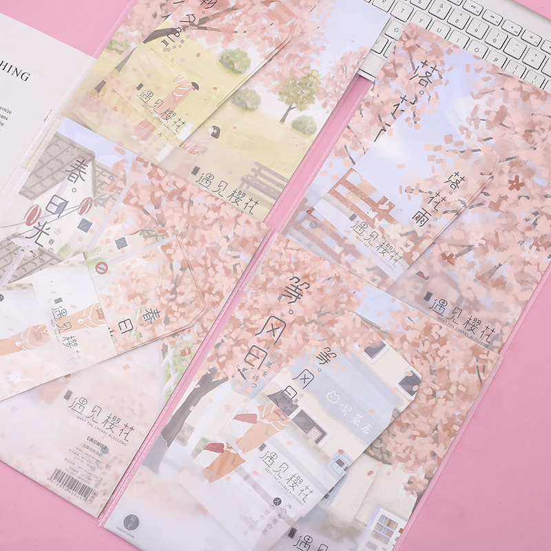 Lovely Kawaii Paper Envelope Postcard Presents Children With School Materials Beautiful Fruit Envelopes And Stationery