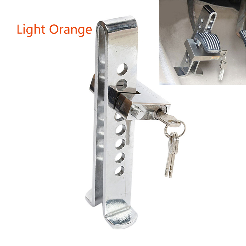 Adjustable Alloy Steel Car Anti-Theft Lock Security Supplies Device Auto Car Clutch Brake Lock