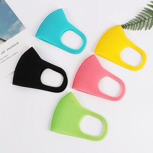 Image 3 - 3 قطعة الغبار قناع الوجه غطاء للفم الأطفال الكبار تنفس قابل للغسل تنفس قابلة لإعادة الاستخدام قناع