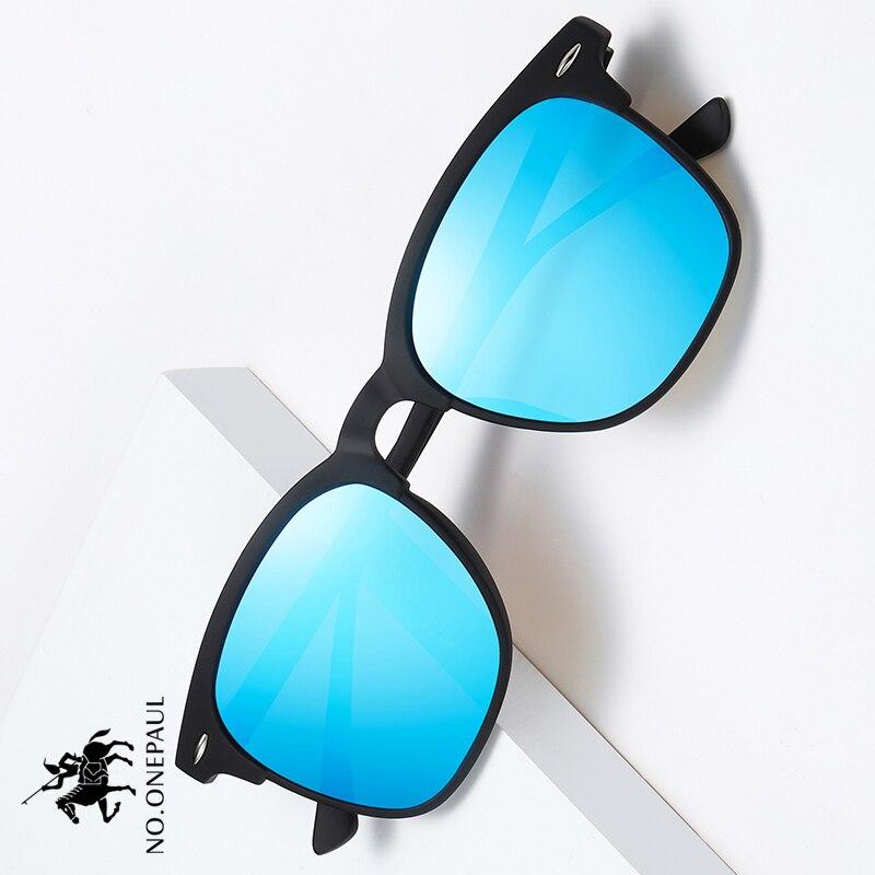 NO.ONEPAUL Brand Women One Sun Glasses Square Retro Oculos De Sol Male UV400 Mirror Eyewear Classic Men Sunglasses Luxury