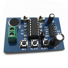 цена на ISD1820 recording module voice board module recording sound amplification(amplifier)