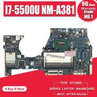 NM-A381 Laptop motherboard for Lenovo YOGA3-14 original mainboard I7-5500U