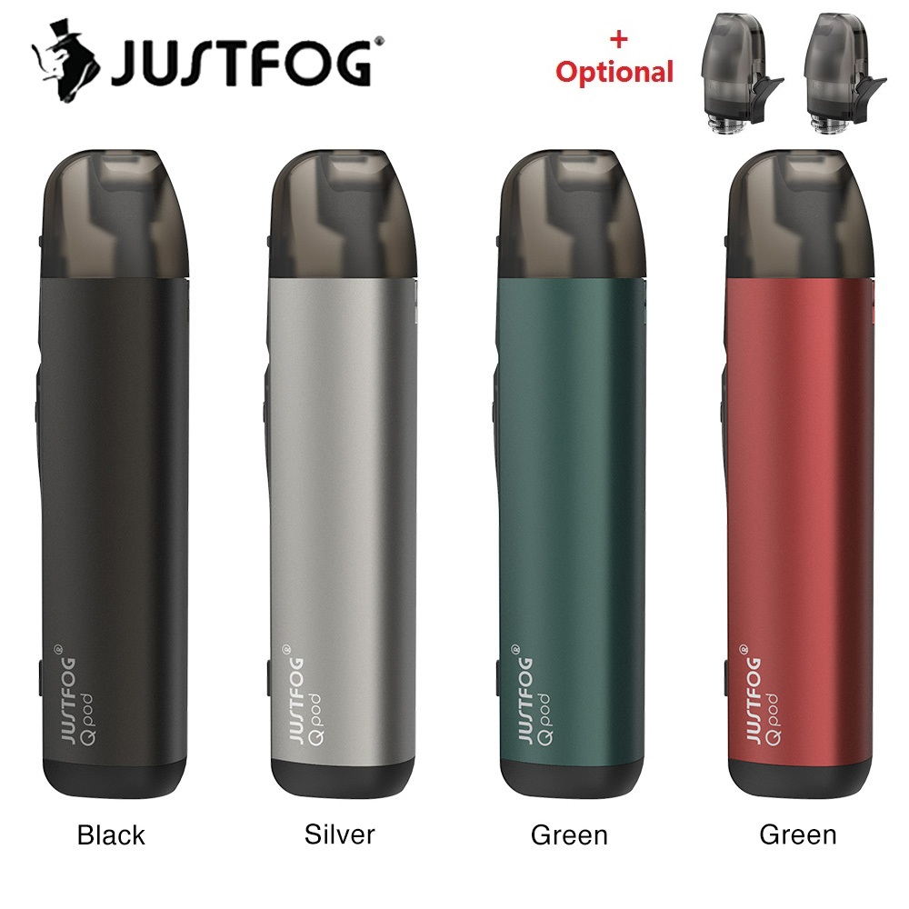 Original JUSTFOG QPOD Pod Kit With 900mAh Battery & 1.9ml Pod System Electronic Cigarette E Cig Vs Justfog Minifit/ Renova Zero