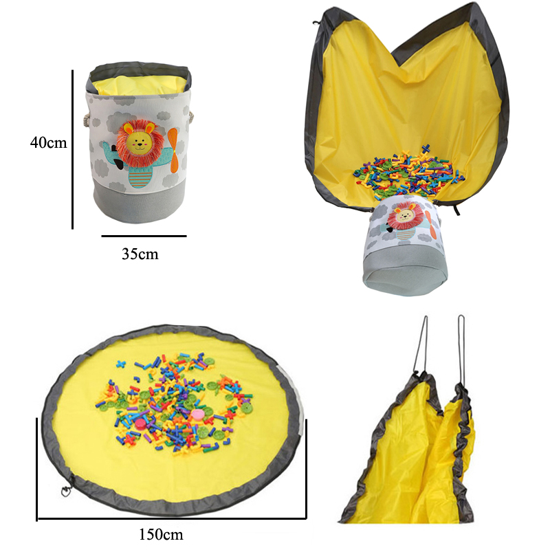 Folding Children Toy Storage Bucket Best Children's Lighting & Home Decor Online Store