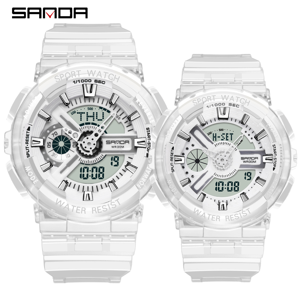 Couple Watches Watch Men G Style Waterproof Sports Military Watches Shock Men's Lovers Luxury Analog Digital Quartz Women Watch