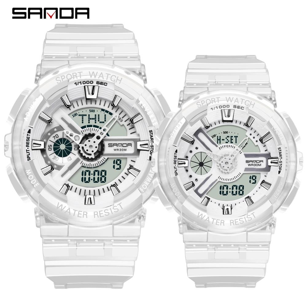 Couple Watches Watch Men G Style Waterproof Sports Military Watches Shock Men's Lovers Luxury Analog Digital Quartz Women Watch
