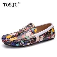 TOSJC; модные мужские лоферы; Повседневная дышащая обувь без застежки; обувь для вождения с бабочкой; Легкие мокасины на плоской подошве; мягкие мужские водонепроницаемые Мокасины
