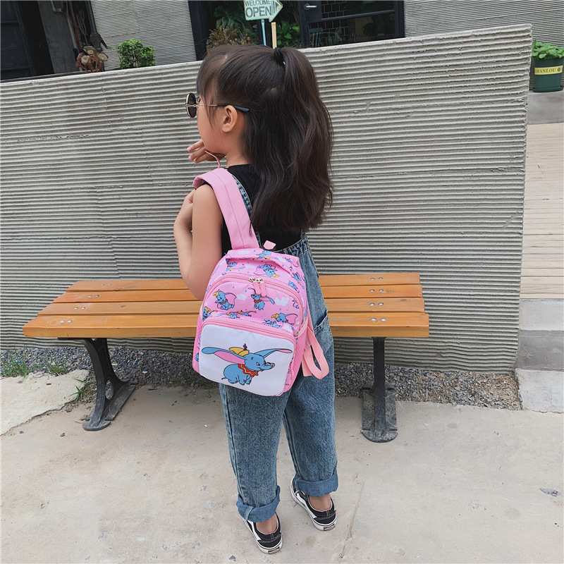 Children Baby Backpack 2019 New Style Korean-style Shaking Voice Network Red Dumbo CHILDREN'S Students Men And Women Cute Small