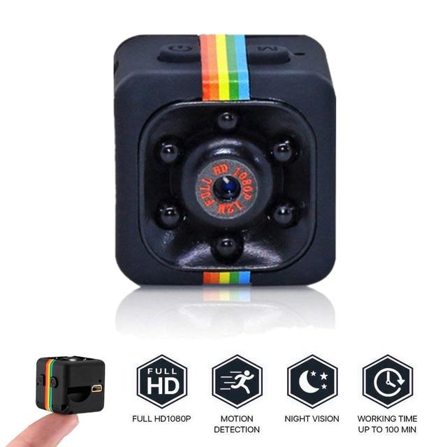 SQ11 mini cámara HD 1080P con Sensor de levas, videocámara de visión nocturna, Micro cámara de vídeo DVR DV, grabadora de movimiento, SQ 11