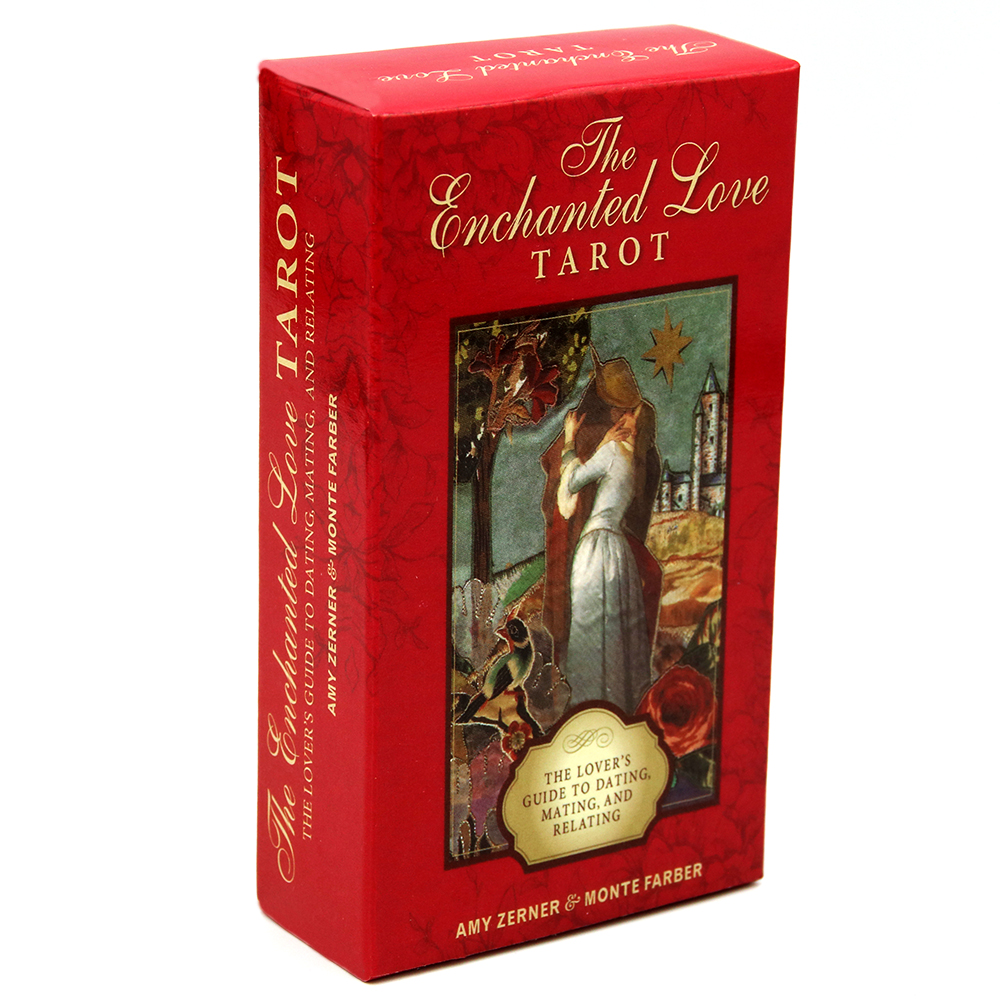The Enchanted Love Tarot 78 Cards Deck The Lover's Guide To Dating Mating And Relating Card Game Gifts Arcana Beginner Tarot Set