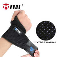 TMT Wrist Band Support for Adjustable Wrist Bandage Brace for Gym Sports Wristband Compression Wraps Tendonitis Pain Relief 1 PC