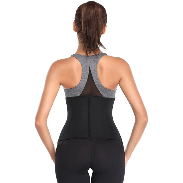 waist trainer Neoprene Corset body shaper Belts Support Sweat Underwear Strap Slim Shapewear Burning Tummy and Back Fat Slim Sha 2