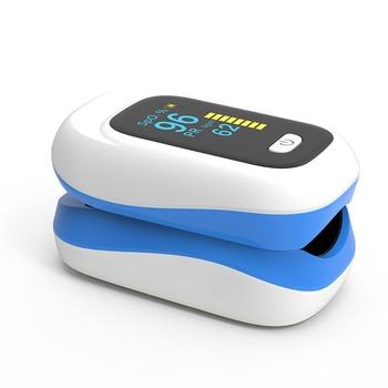 BOXYM Medical Digital Wrist Blood Pressure Monitor Sphygmomanometer Finger Pulse Oximeter SpO2 Saturation Meter Family Health 4