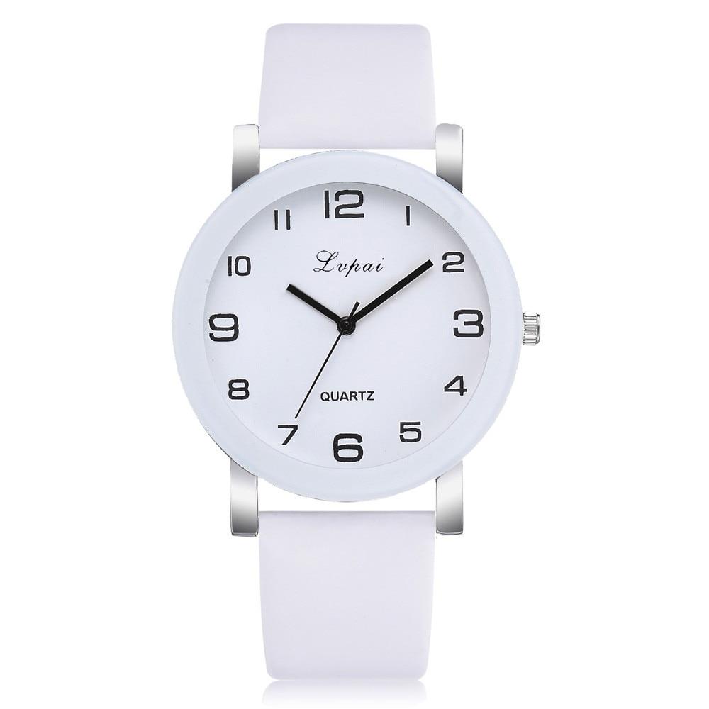 Lvpai Women's Casual Quartz Leather Band Watch Analog Wrist Watch