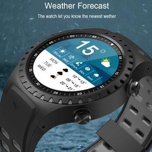 """Image 3 - SCOMAS GPS ساعة ذكية 1.3 """"جولة عرض دعم بلوتوث مكالمة هاتفية GPS البوصلة مراقب معدل ضربات القلب في الهواء الطلق الرياضة Smartwatch"""