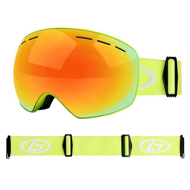 Snowboard Goggles Ski Glasses Double Anti Fog Spherical Double Ski Goggles True Revo Red Tablets Vektor Lunette Ski Enfant 30s26 Skiing Eyewear Aliexpress