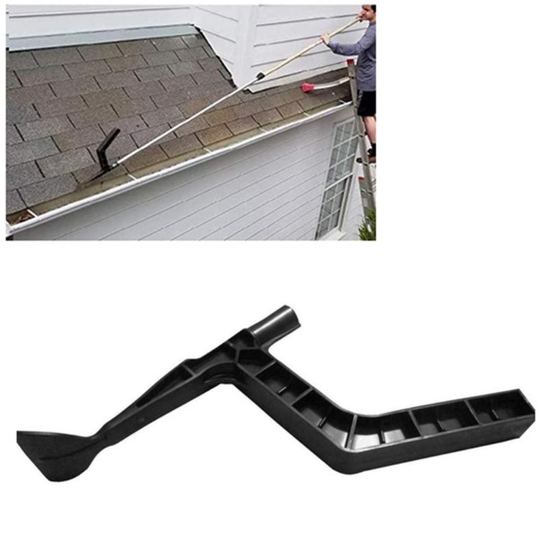 XINYI Gutter Cleaner Roof Drain Ditch Leaf Debris Cleaner Gutter Tool Gutter Cleaning Spoon and Scoop