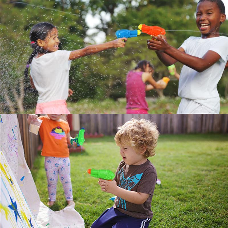 Summer Children's Plastic Toys Water Gun Outdoor Beach Swimming Pool Children's Toys Water Gun Entertainment Water Gun Outdoor