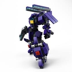 360 pçs design original mech guerreiro blocos de construção brinquedos para crianças robôs armadura anime figura modelo 14cm figura ação bonecas