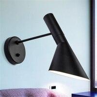 Nordic Lamp LED Wall Lights Design Arne Jacobsen Modern Sconce Replica Lamp Aj Hanging Lamp Aj Wall Lamp Bedroom Decor Luminaria