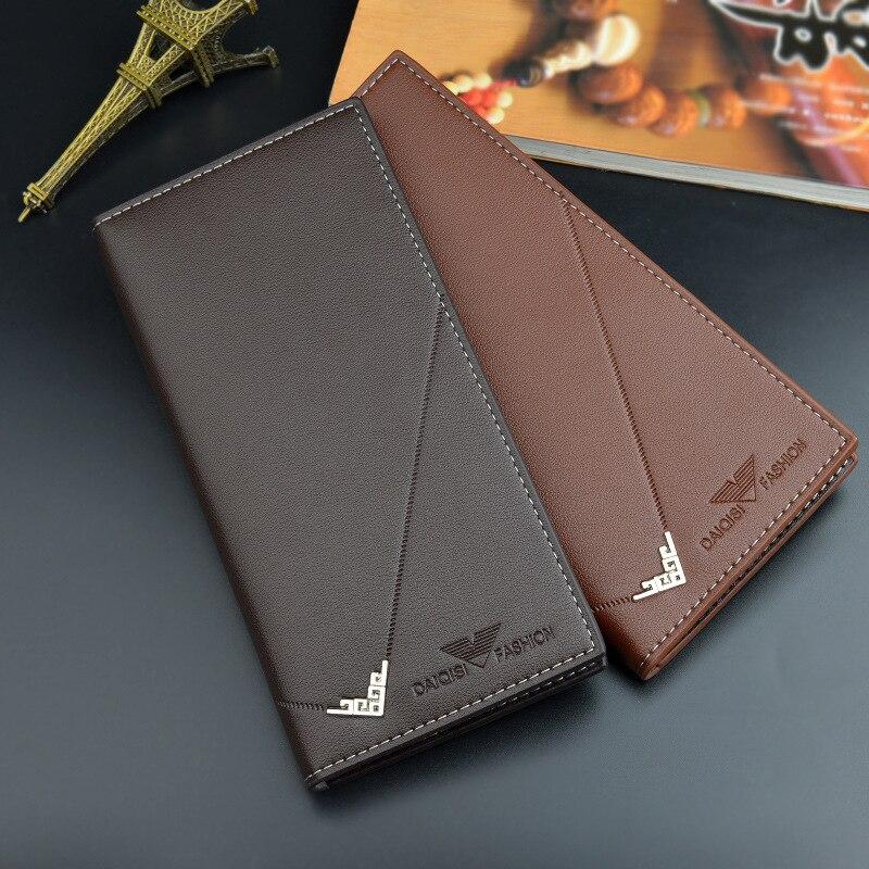 Top Men'S Long Money Wallet Multi Men Wallets Business Brand Card Holder Coin Purse Men Handbag Clutch Bags Minimalism