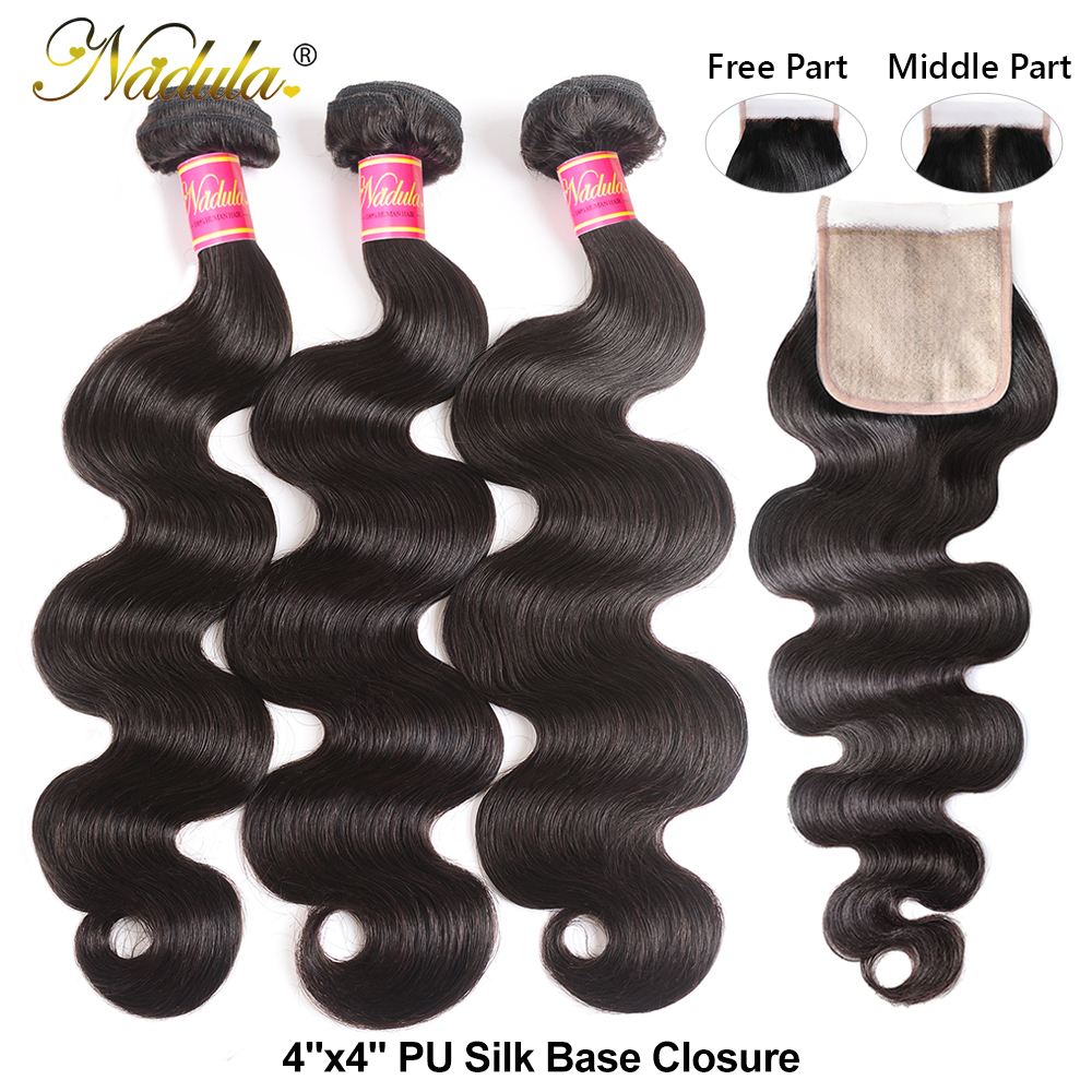 Nadula Hair Lace Closure With Body Wave Bundles   Bundles With Closure  Hair Lace Closure With Bundles 3