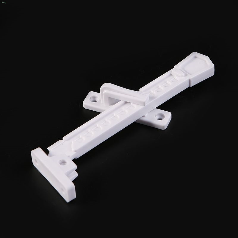 ABS Window Brace With Screws Window Sash Lock Child Safety Window Latch Window Stay Catch L29K