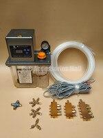 Full set 2L Fully Automatic Lubrication Pump 220v Single screen Oil Lubrication Pump for CNC machine