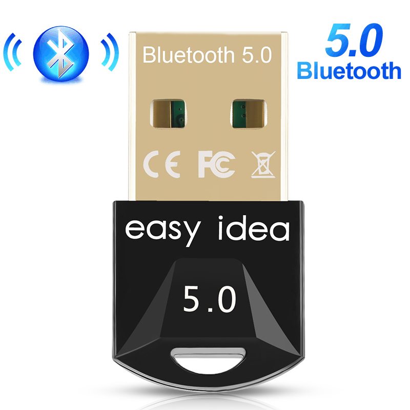 USB Bluetooth Adapter 5.0 Bluetooth Dongle Mini USB Bluetooth Receiver Audio Music Blue Tooth 5.0 Transmitter For PC Computer