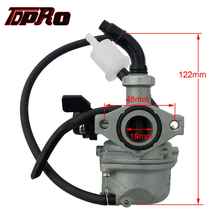 TDPRO PZ19 19mm Engine Racing Carburetor Carby & Fuel Filter For Honda XR50 CRF50 50cc-125cc ATV Quad Pit Dirt Pro Bike Atomik