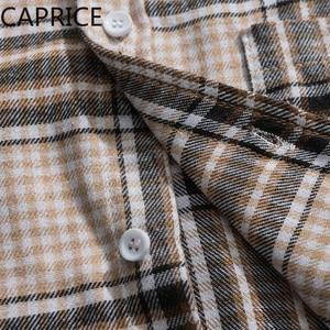 Image 5 - היפ הופ רקמת טלאים משובצים גברים חולצות 2019 אופנה Harajuku Streetwear מזדמן כותנה Oversize זכר ארוך שרוול להאריך ימים יותר