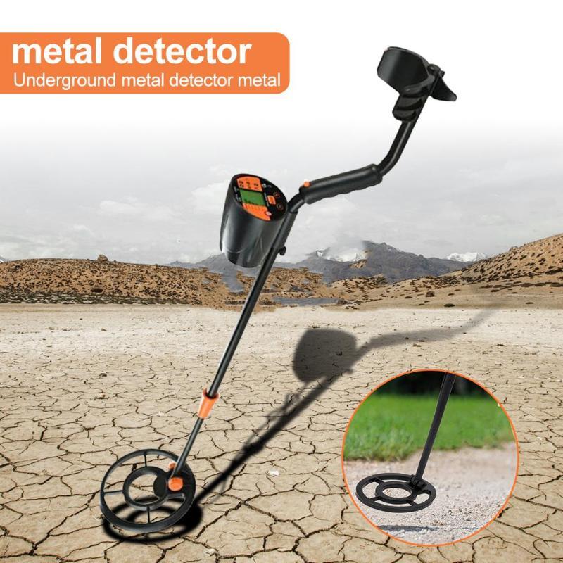 Détecteur de métaux souterrain portable chasseur de trésor or détecteur de cuivre 60mA 18V chasseur pointeur Mode détecteur de métaux