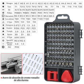 117 in 1 Hand Multi Screwdriver Set 98 Precision Bit Tool Screwdrivers for Computer PC Mobile Phone Repair Tools