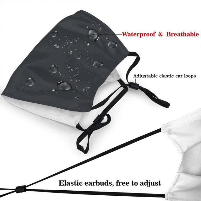 Pelagic Logoblue Washable Reusable Mask with 2Pcs PM2.5 Filters 5 Layers 2