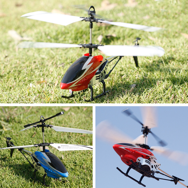 Alloy RC Helicopter Mini Drone Kids Toys 2.5/3.5 Channel Drop-resistant Alloy Helicopter Mini Drone Toys For Children RC Drones
