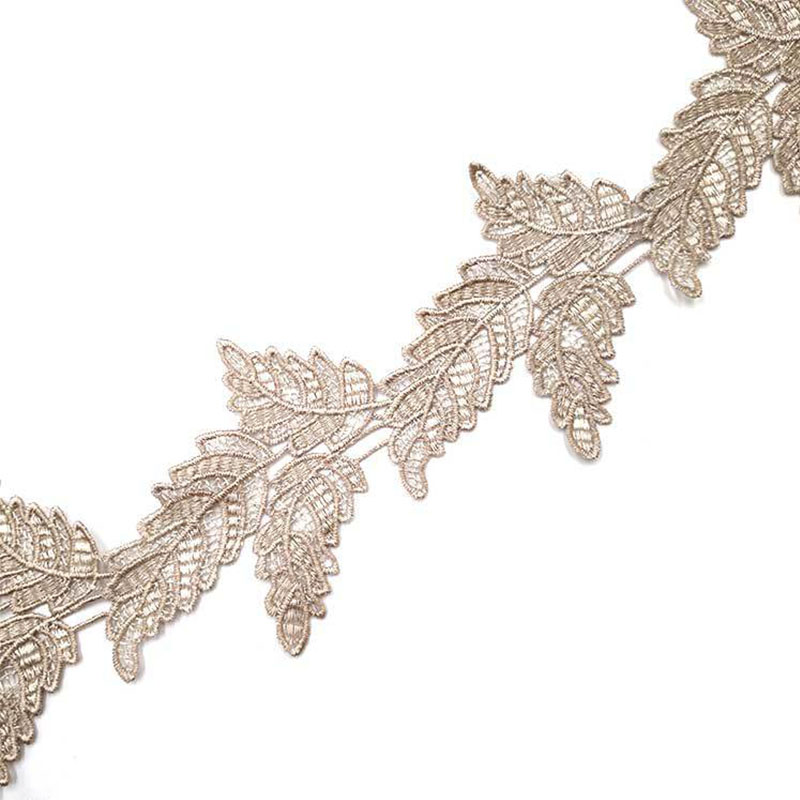 7 Yards Lace Trims For Curtain Sofa Costumes Trimmings Dress Ribbon Leaf Applique Lace Fabric 9.2cm Home Party Decoration